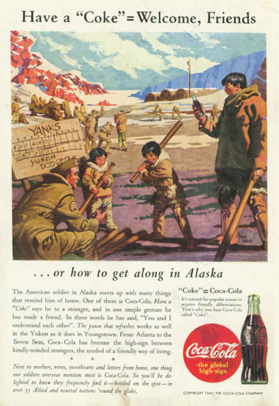 Coca Cola Around The World World War II
