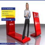 INTERACTIVE ADVERTISING DISPLAY - Virtual Projection Display