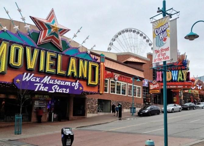 Canada Movieland, Canada Midway, Niagara Falls, Canada 2013.