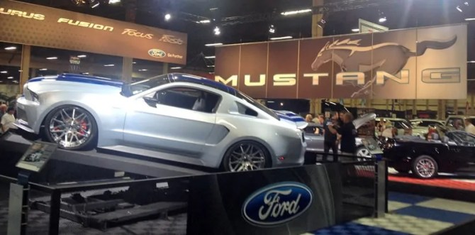 Ford Mustang at Barrett-Jackson, Las Vegas, NV