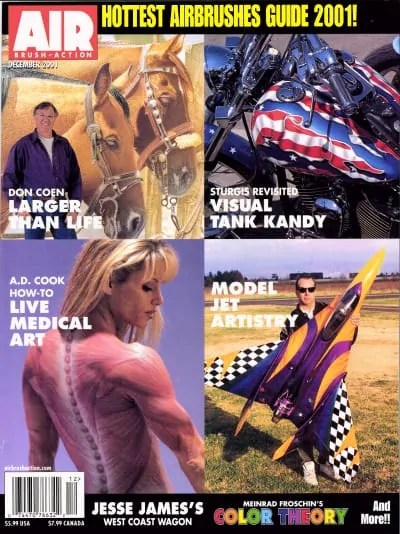 Airbrush Action Magazine, December 2001