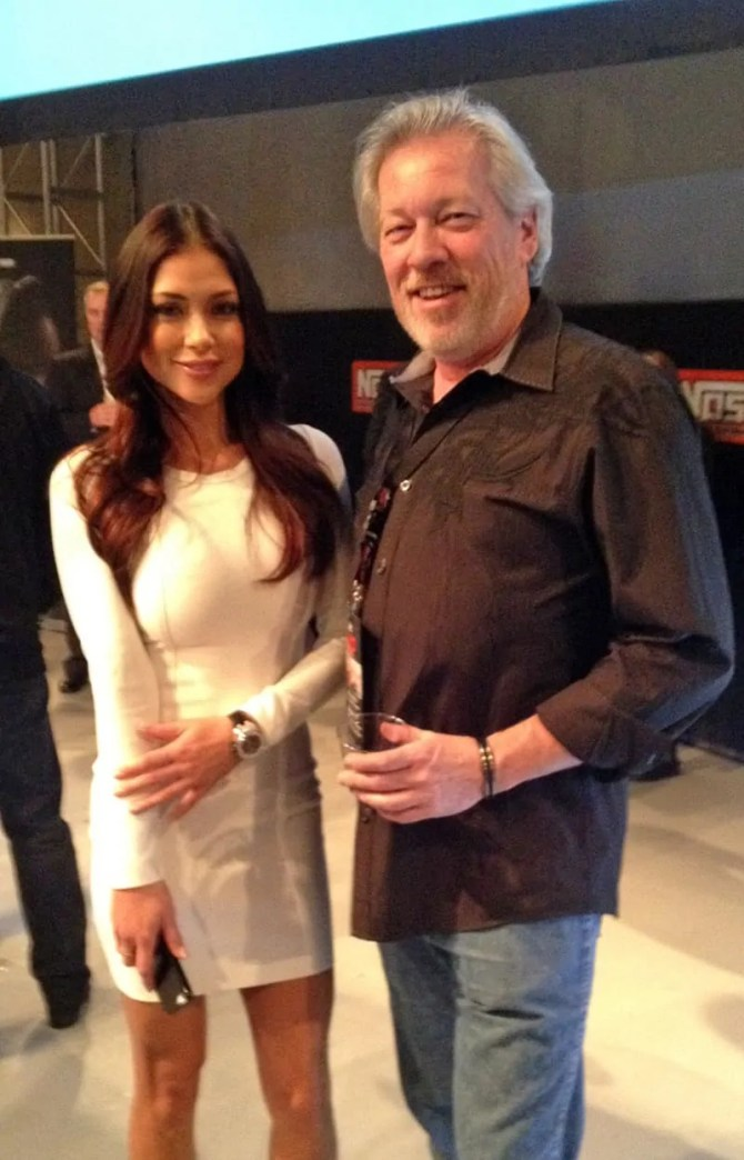 Arianny Celeste and A.D. Cook, Las Vegas, NV