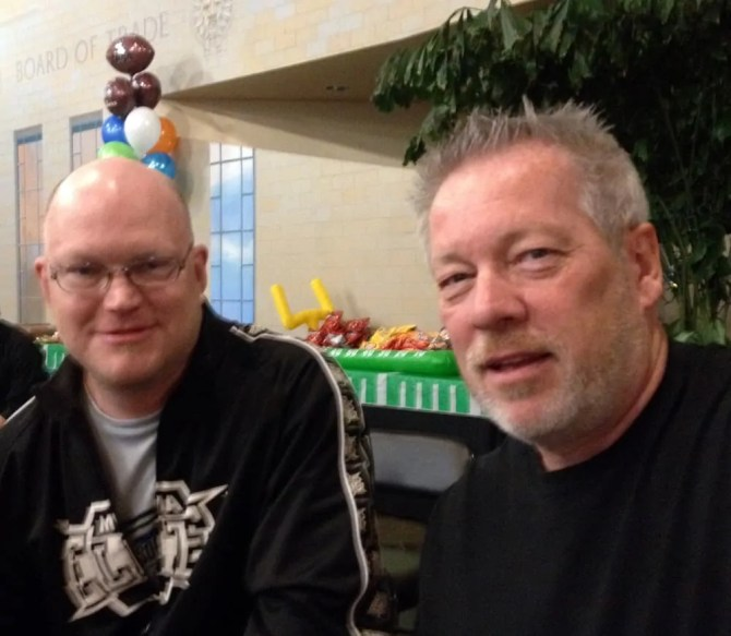 SuperBowl XLVIII Party - James Walkenshaw and A.D. Cook 2014