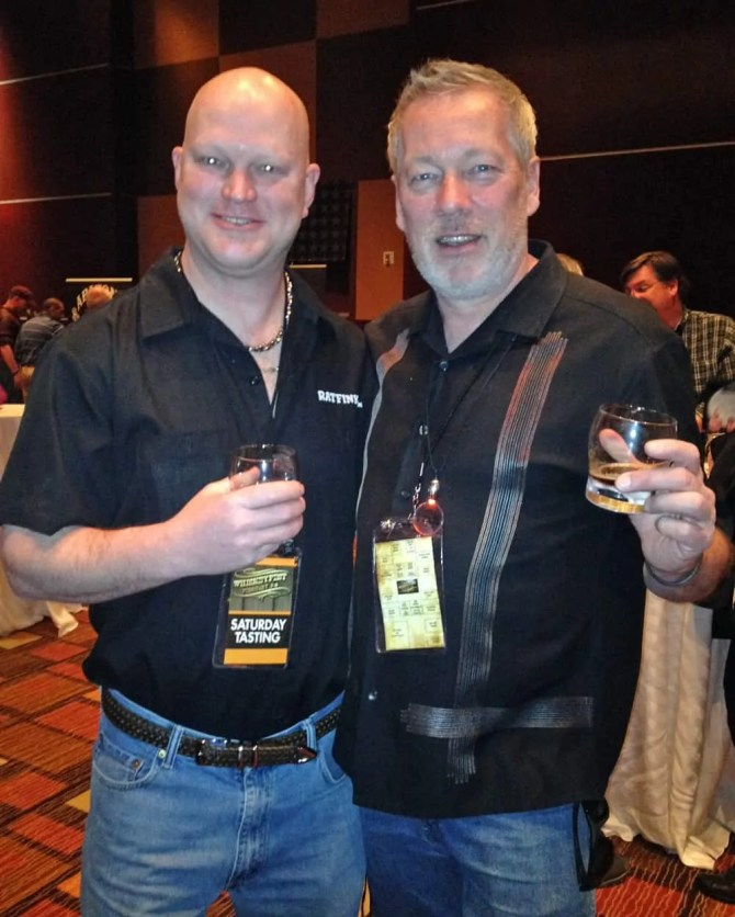 WhiskeyFest 2014 - James Walkenshaw and A.D.Cook, Las Vegas, NV