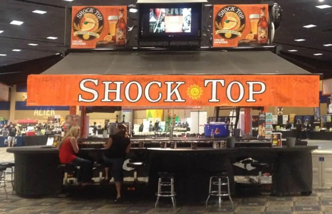 Shock Top Trailer Bar at Lee's Beer & Tequila Experience