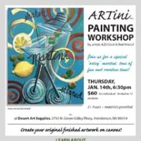 Artini Painting Workshop with A.D. Cook and Beti Kristof