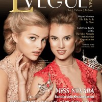 LVegue magazine cover - Spring 2016