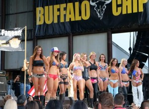 Sturgis 2016 - Pagent Babes at Buffalo Chip