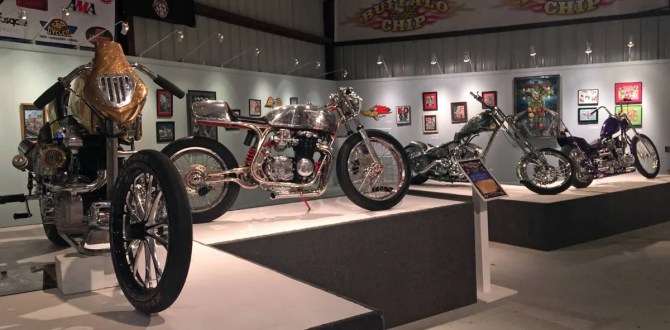 Motorcycle Artist A.D. Cook at Sturgis 2016