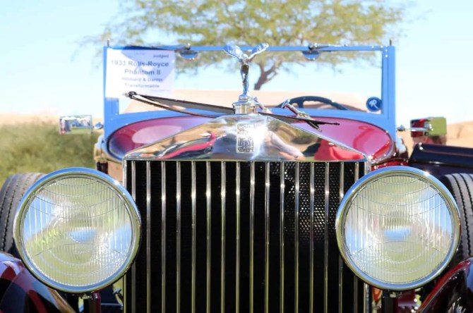 1933 Rolls Royce at Red Rock Concours dElegance 2016