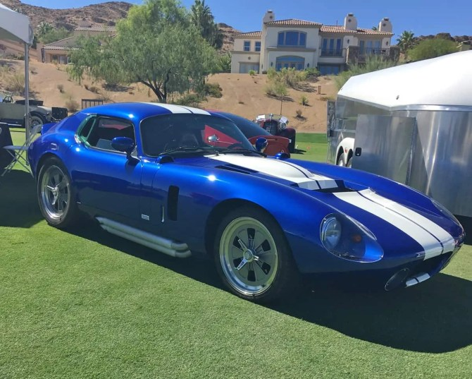 Shely Daytona at Red Rock Concours d'Elegance 2016, Las Vegas, NV