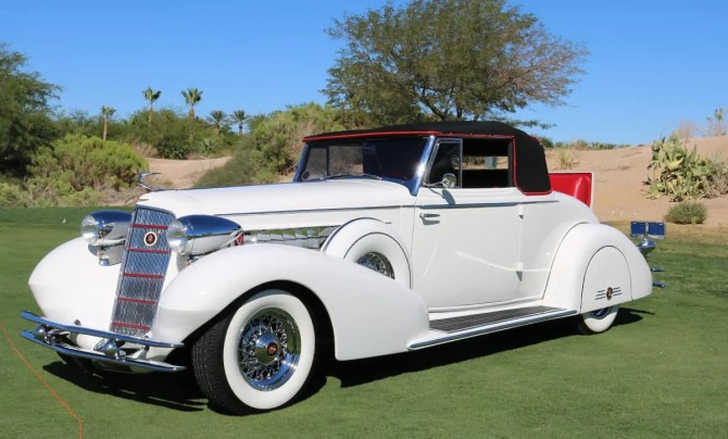 Cadillac at Red Rock Concours d'Elegance 2016