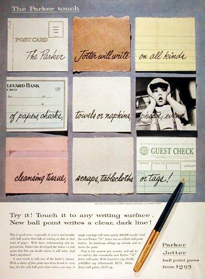 1955 Parker Ballpoint Pen #007672