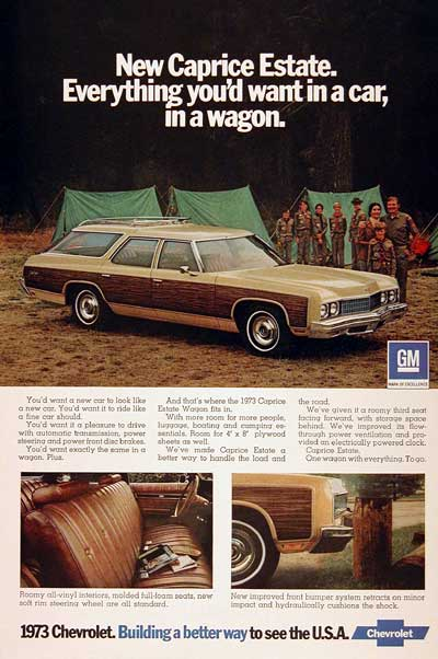 1973 Chevrolet Caprice Estate Station Wagon Classic