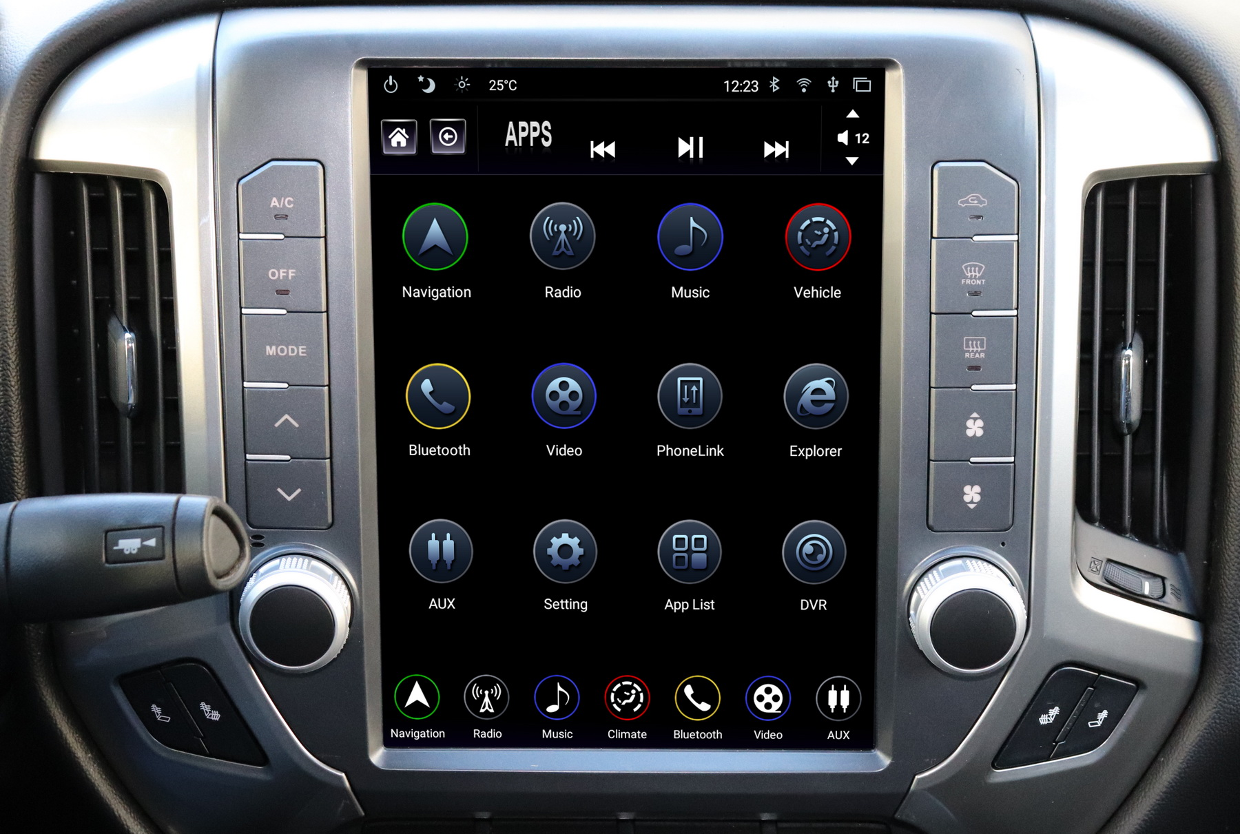 Gen Iii T Style Radio For Gm Trucks Adc Mobile