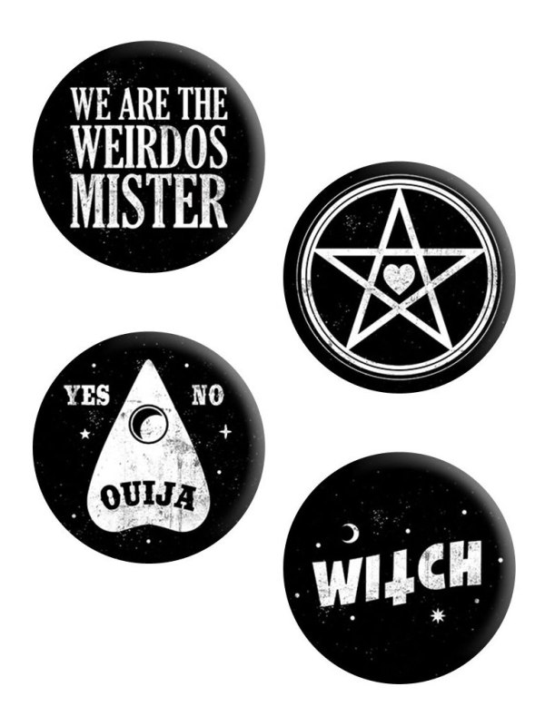 GRINDSTORE - We Are The Weirdos Badge Pack