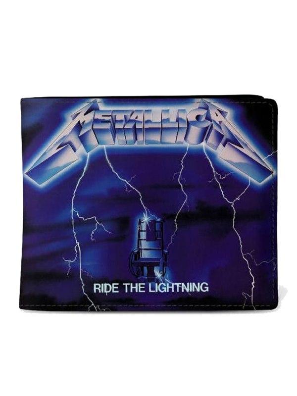 ROCKSAX - Metallica - Ride The Lightening Plånbok