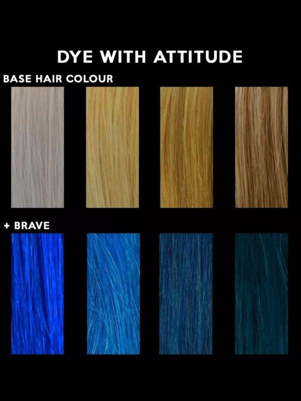 ATTITUDE - Brave Blue Hårfärg