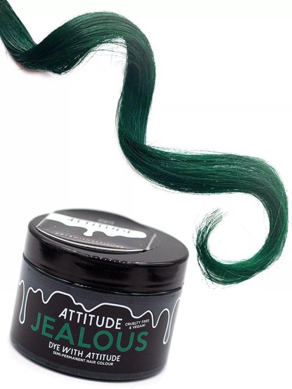 ATTITUDE - Jealous Green Hårfärg