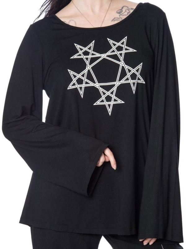 BANNED - Pentagram Oversized Top