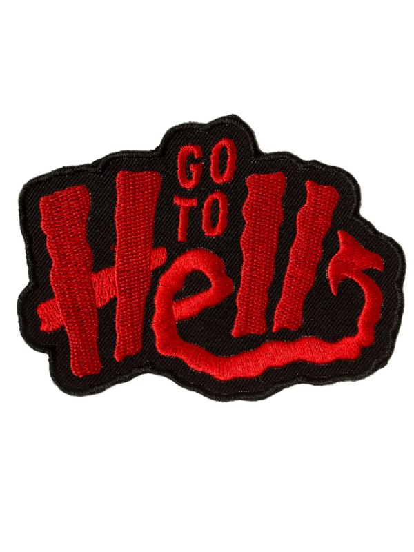 SOURPUSS - Go To Hell Patch