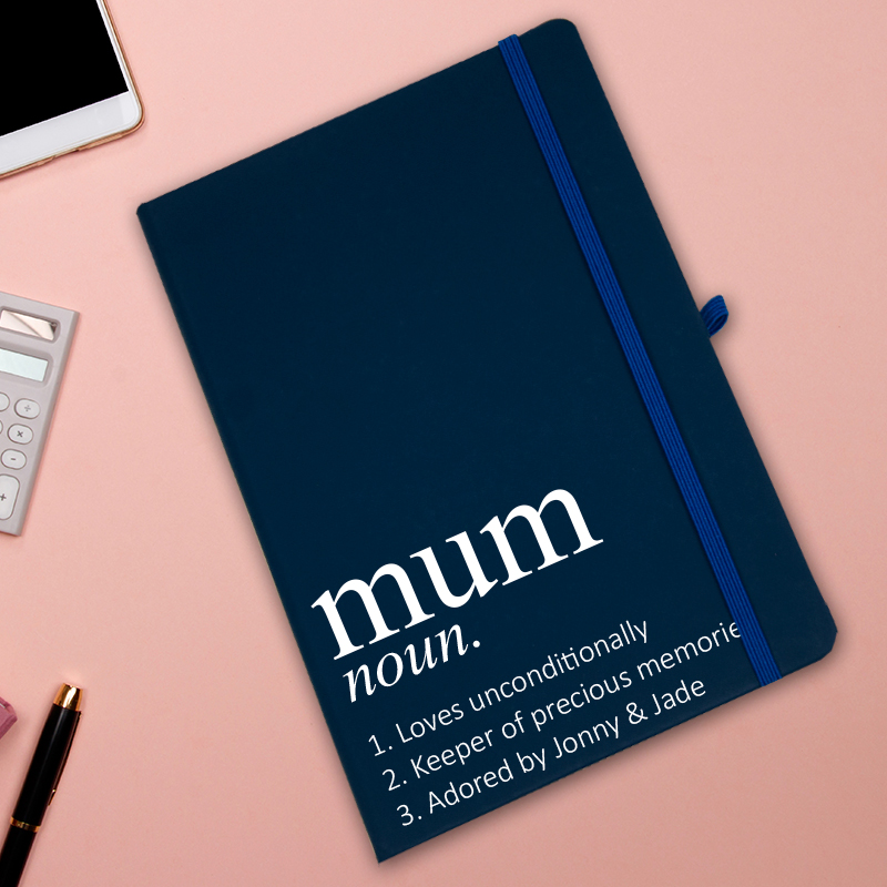 personalised mum notebook