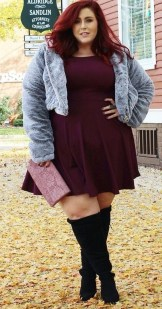 Casual And Comfy Plus Size Fall Outfits Ideas13