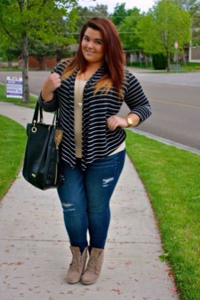 Casual And Comfy Plus Size Fall Outfits Ideas16