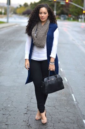 Casual And Comfy Plus Size Fall Outfits Ideas25