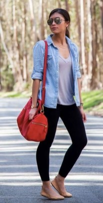 Cute Outfits Ideas With Leggings Suitable For Fall08