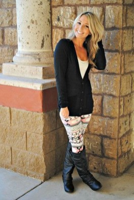 Cute Outfits Ideas With Leggings Suitable For Fall18