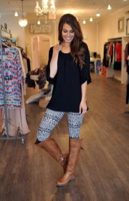 Cute Outfits Ideas With Leggings Suitable For Fall21