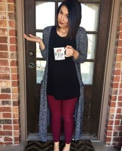 Cute Outfits Ideas With Leggings Suitable For Fall34