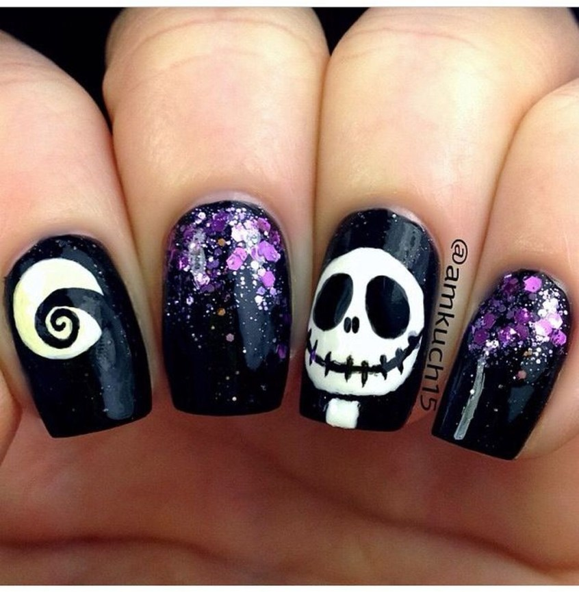 Eye Catching Fall Nails Art Design Inspirations Ideas13