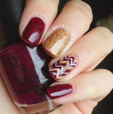 Eye Catching Fall Nails Art Design Inspirations Ideas24
