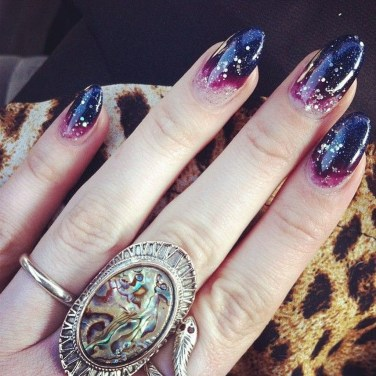 Eye Catching Fall Nails Art Design Inspirations Ideas35