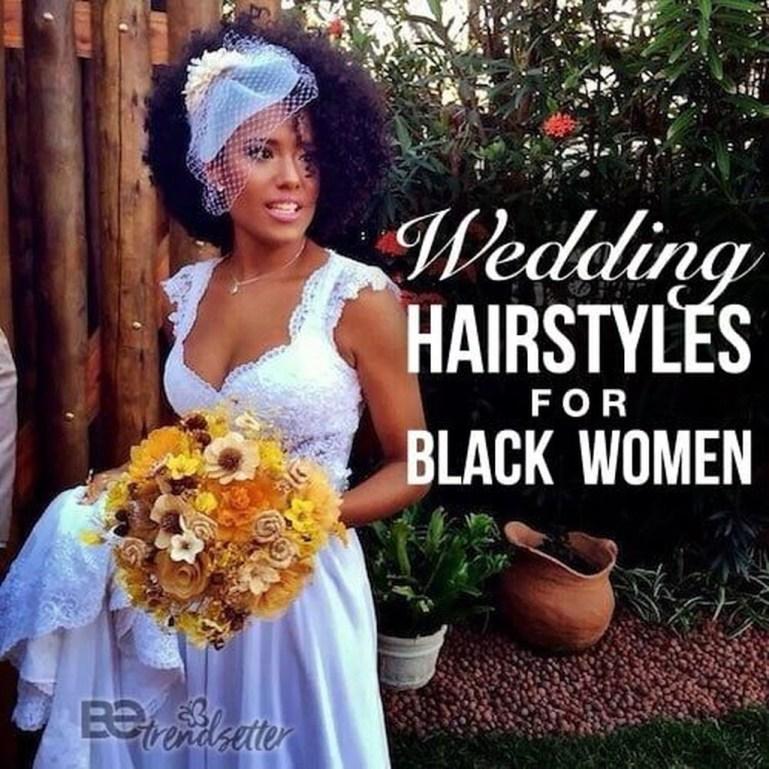 Gorgeous Wedding Hairstyles For Black Women01