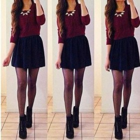 Modest But Classy Skirt Outfits Ideas Suitable For Fall10