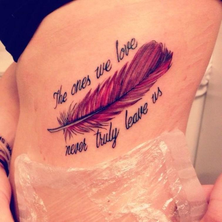Awesome Feather Tattoo Ideas09