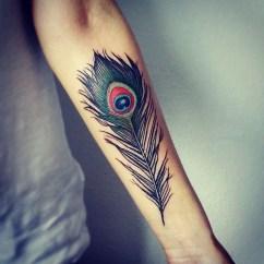 Awesome Feather Tattoo Ideas20
