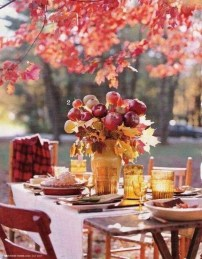 Awesome Outdoor Fall Wedding Tips Ideas30