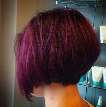 Chic Short Hairstyle To Copy Right Now26
