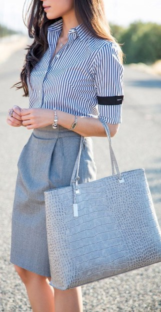 Stunning Work Office Outfit Ideas35