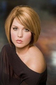 Awesome Haircuts Ideas For Round Face41