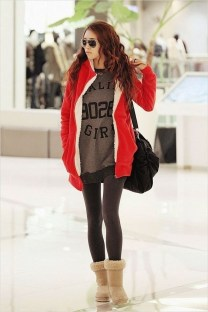 Charming Winter Outfits Ideas Teen Girl06