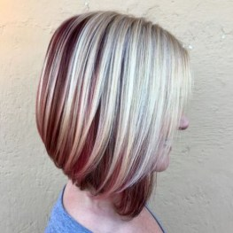 Cute Layered Bob Hairstyles Ideas08