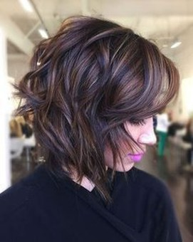 Cute Layered Bob Hairstyles Ideas12