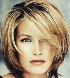 Cute Layered Bob Hairstyles Ideas13