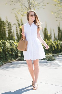 Fascinating Scalloped Clothing Ideas For Summer Outfits39