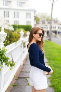 Fascinating Scalloped Clothing Ideas For Summer Outfits46